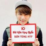 10 Ca Khúc Hay Nhất Sơn Tùng MTP