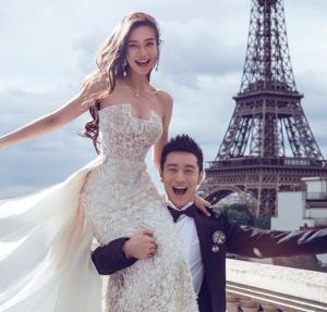 10 cái nhất không thể bỏ qua trong đám cưới của Angela Baby - Huỳnh Hiểu Minh