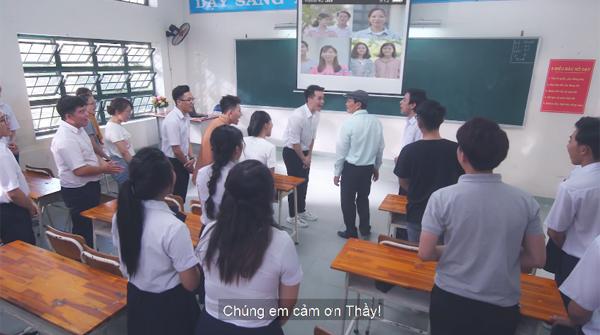 'Thầy đừng lo nữa': MV cảm động của Trung Quân và Tiên Cookie gây sốt dịp 20/11 4