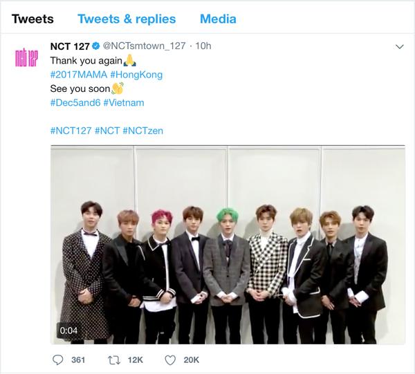 NCT 127 nhắn fan Việt: Hẹn gặp nhau tại Việt Nam nhé! 1